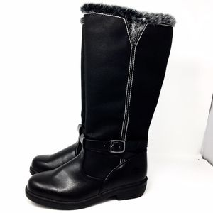 Totes All Weather Black Winter Boots Sz 8M